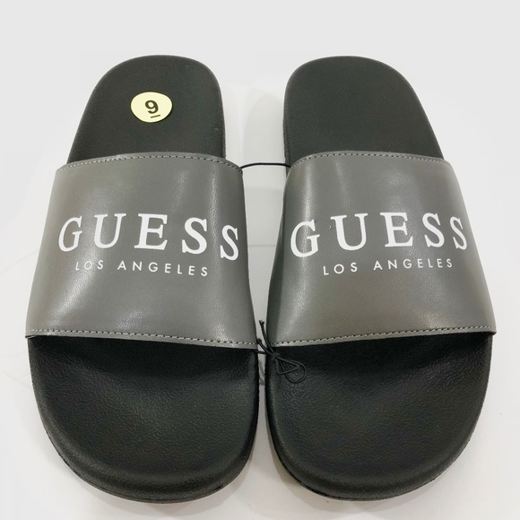 394aee6a750 Guess Los Angeles Men s Flip Flop Slippers Sandals